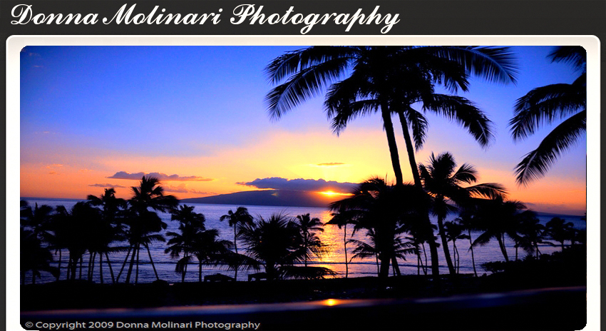 Maui Sunset Donna Molinari Photography Trademark